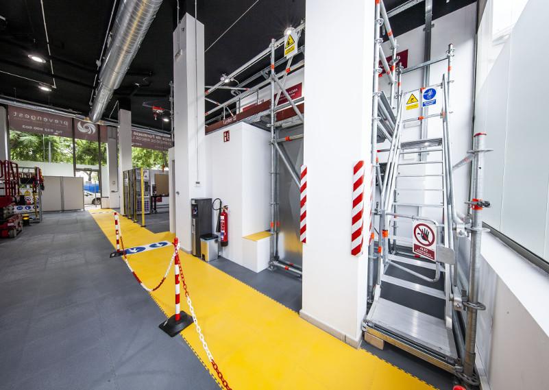 Plataforma elevadora 8H